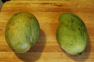 Green Skin Jamaican Mangoes